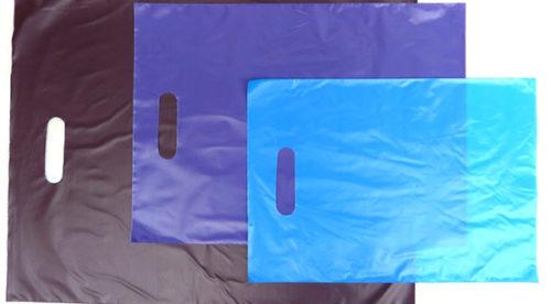 Bolsa plastico troquelado estándar