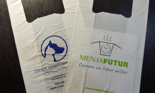 bolsas plástico camiseta